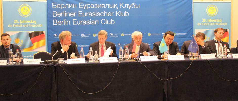 Sitzung des BEK mit Außenminister Idrissov